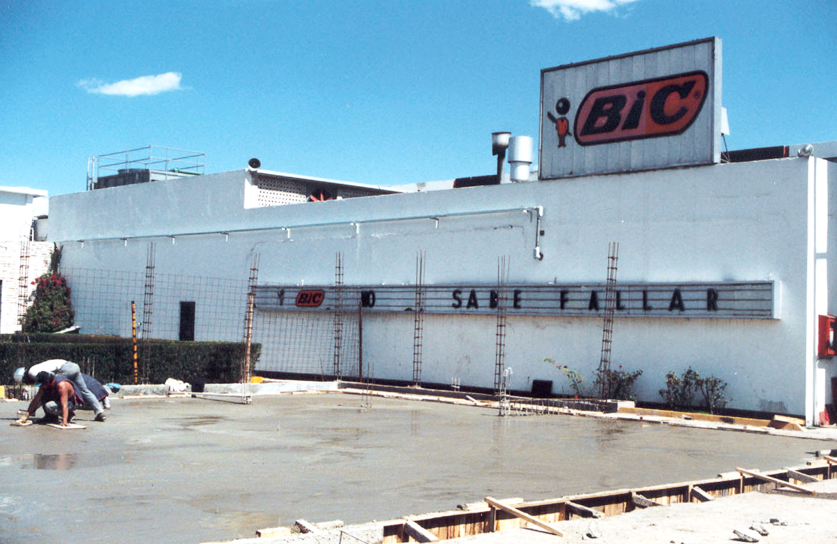 image of a BIC factory