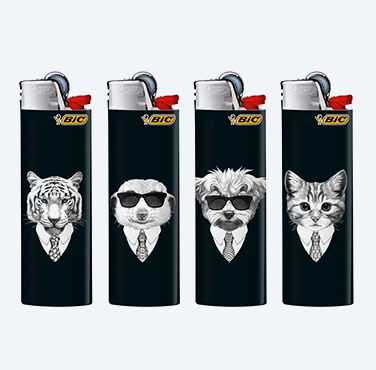 BIC® MAXI LIGHTERS COOL ANIMALS SERIES