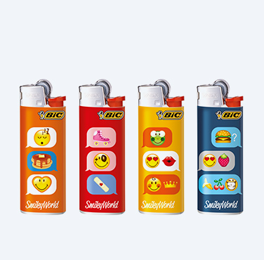 BIC® MAXI LIGHTERS SMILEY® SERIES