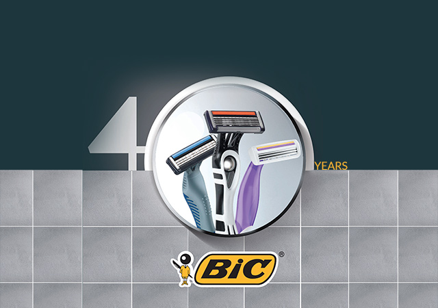 40th Birthday BIC Razors