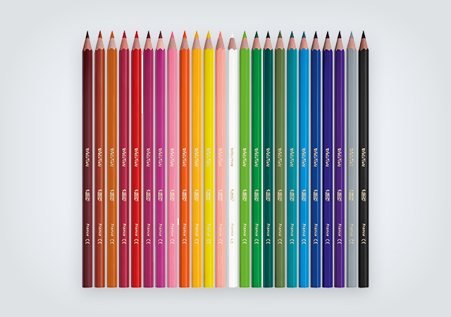BIC Evolution Ecolutions colorful pencil