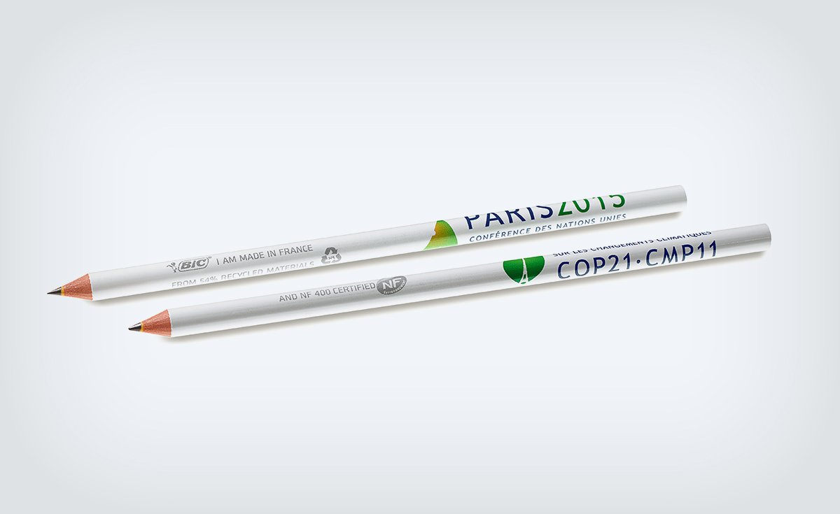 BIC 4 Colours ball pen and the BIC Evolution graphite pencil