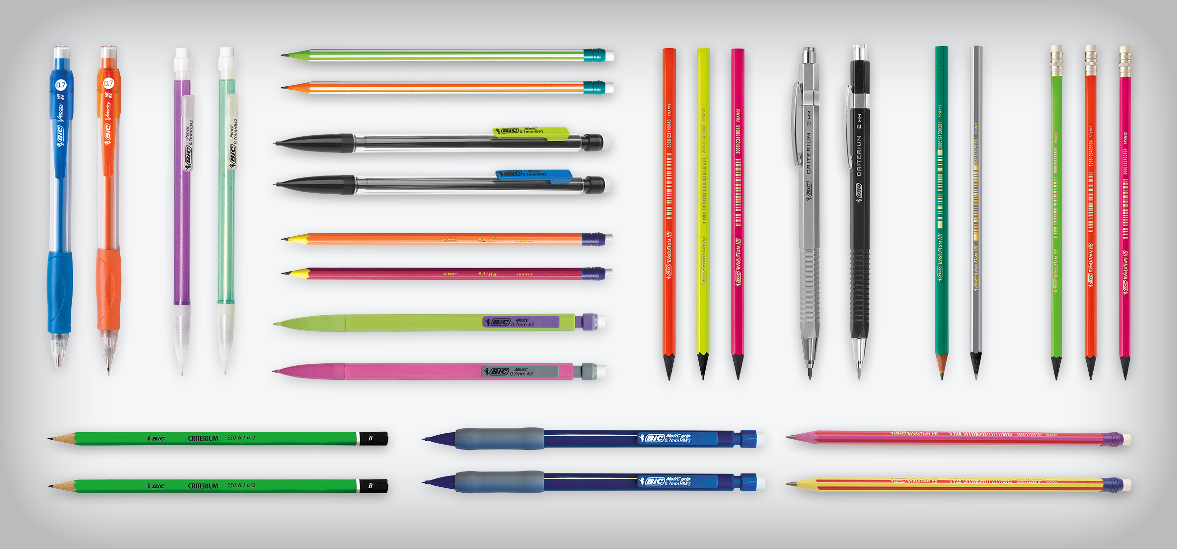 bunch of BIC pens
