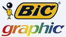 logotipo da marca BIC Graphic