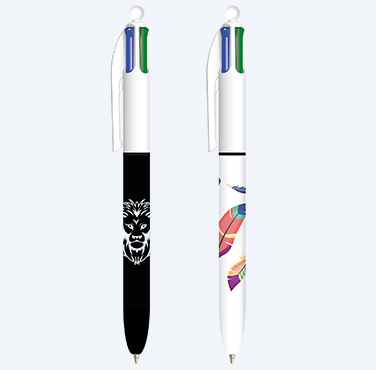 BIC® 4 COLORS™ DÉCOR BALLPOINT PEN