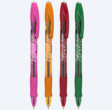 STYLO GEL EFFAÇABLE BIC® GELOCITY® ILLUSION™