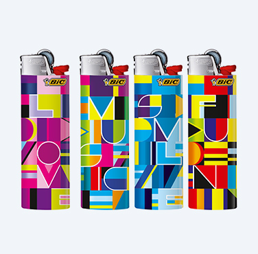 BIC® MAXI LIGHTERS SUBLIMINAL SERIES