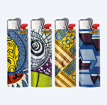 BIC® MAXI LIGHTERS AFRICA WAX SERIES