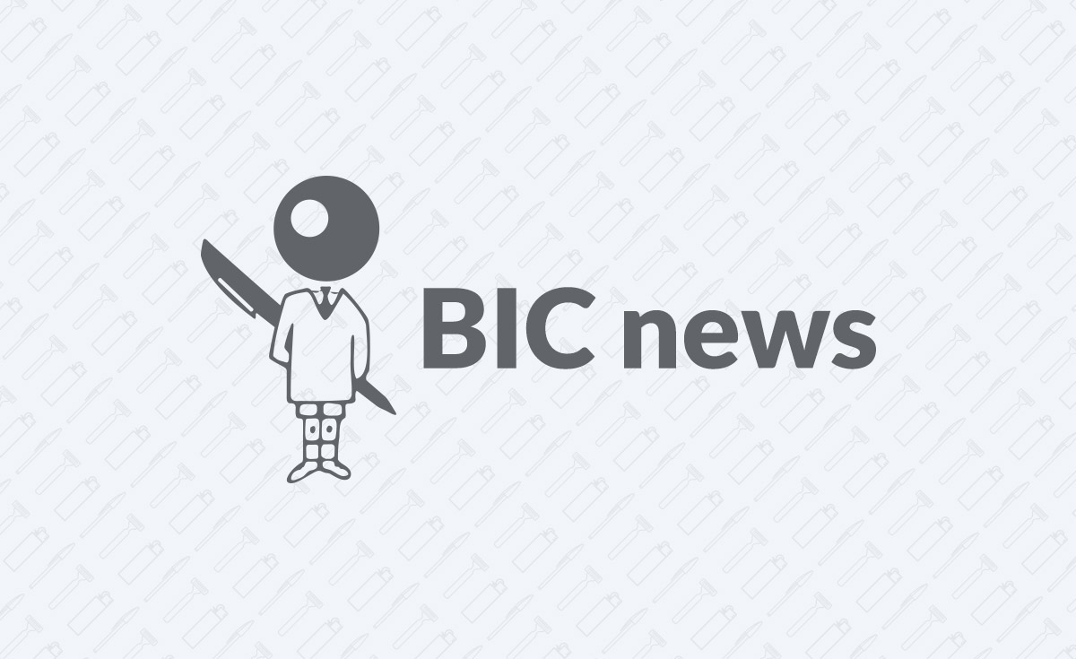 bic graphic news bic boy on grey background
