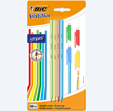 bic evolution eraser cap
