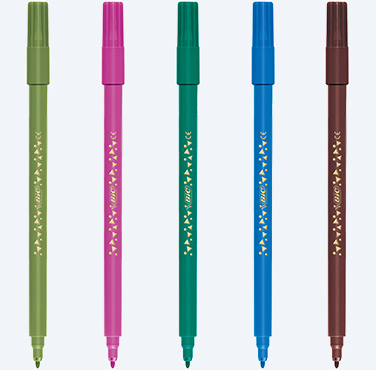 FEUTRES DE COLORIAGE BIC COLOR UP