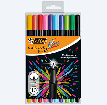 INTENSITY FINE FINELINER PENS - NEW COLORS