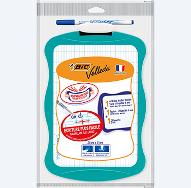 BIC VELLEDA DOUBLE-SIDED DRY ERASER WHITEBOARD