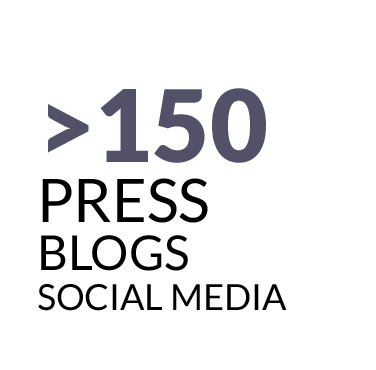 150 press blogs social media