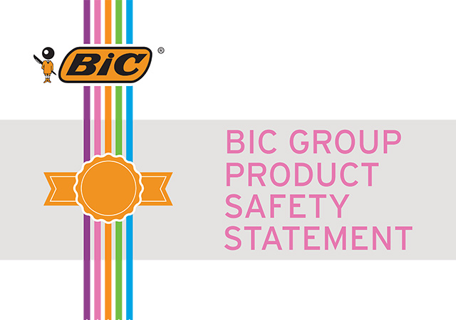 bic group product safety statement cover