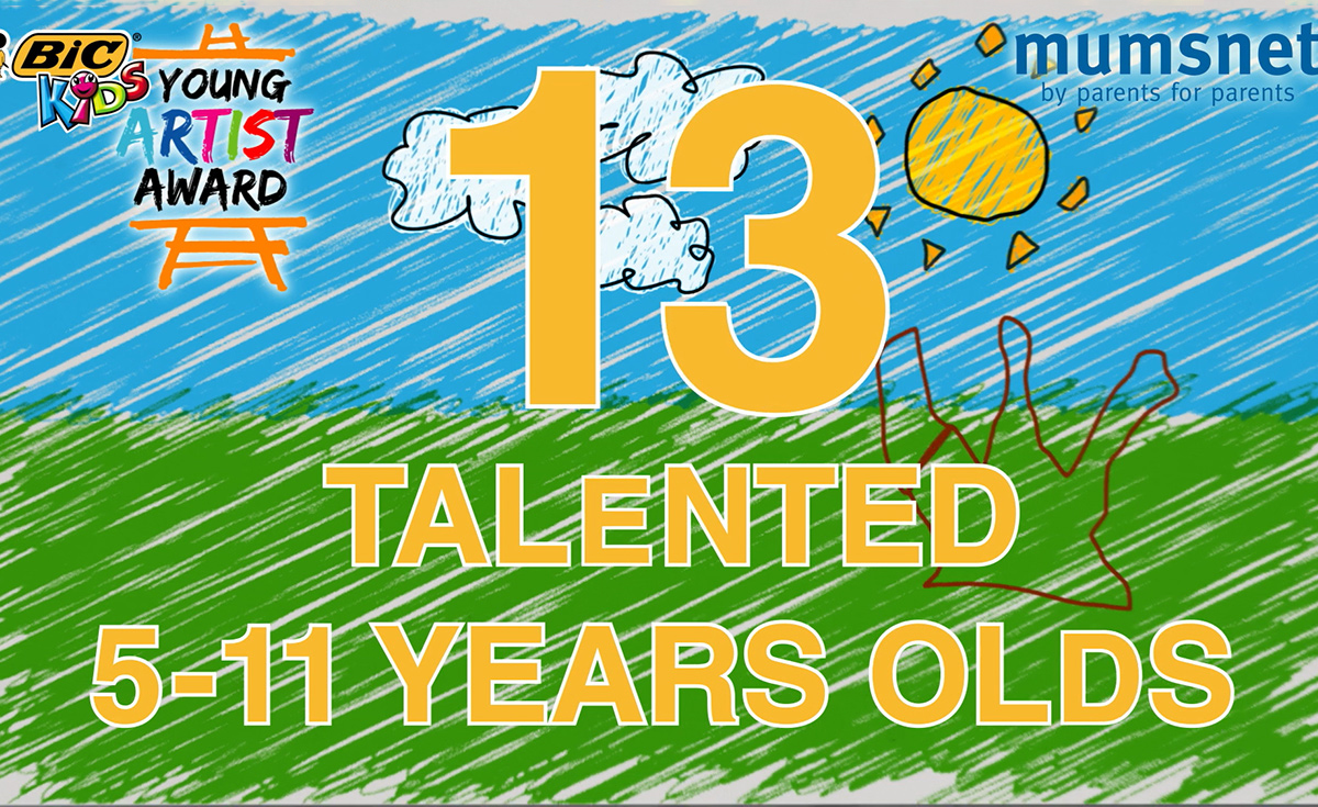 video saying: 13 talented 5-11 years olds