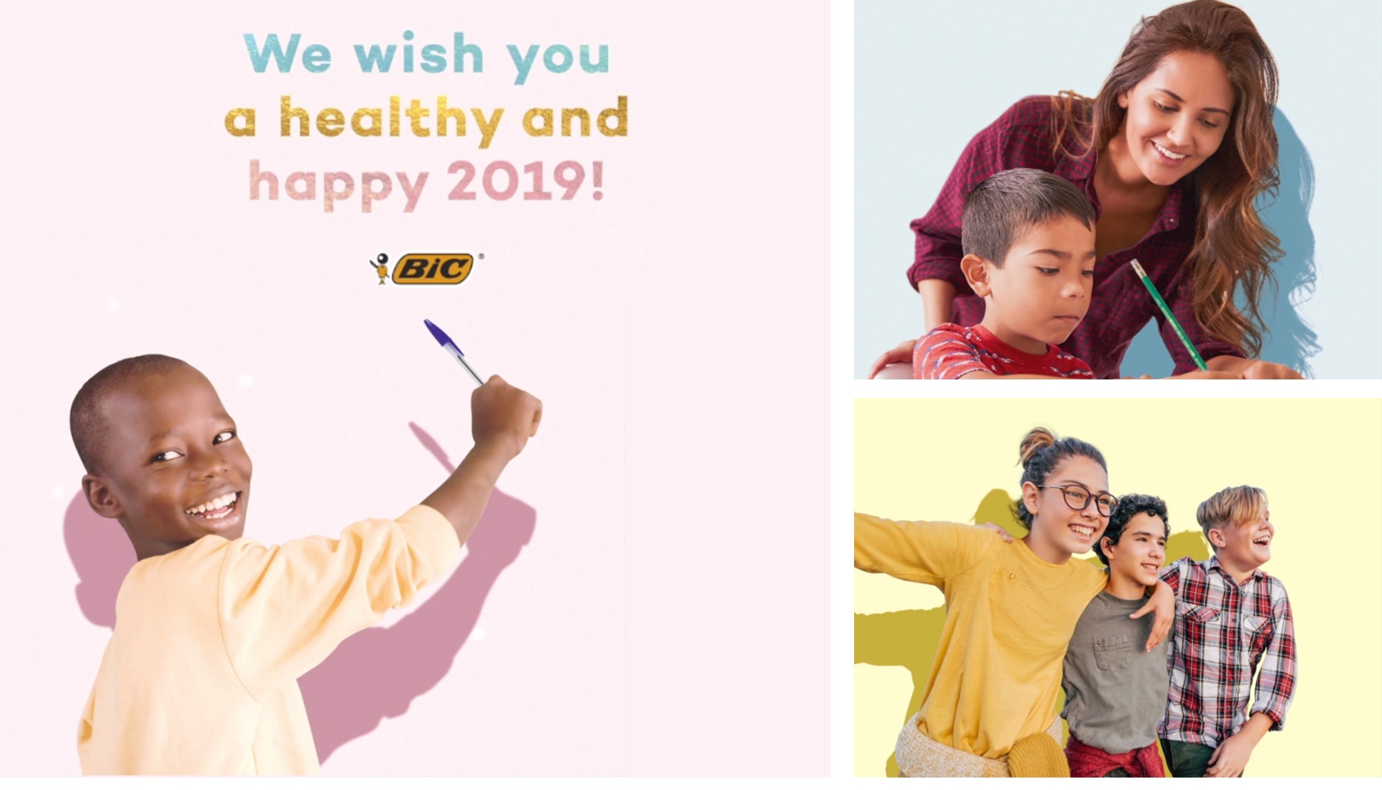 season greetings from bic