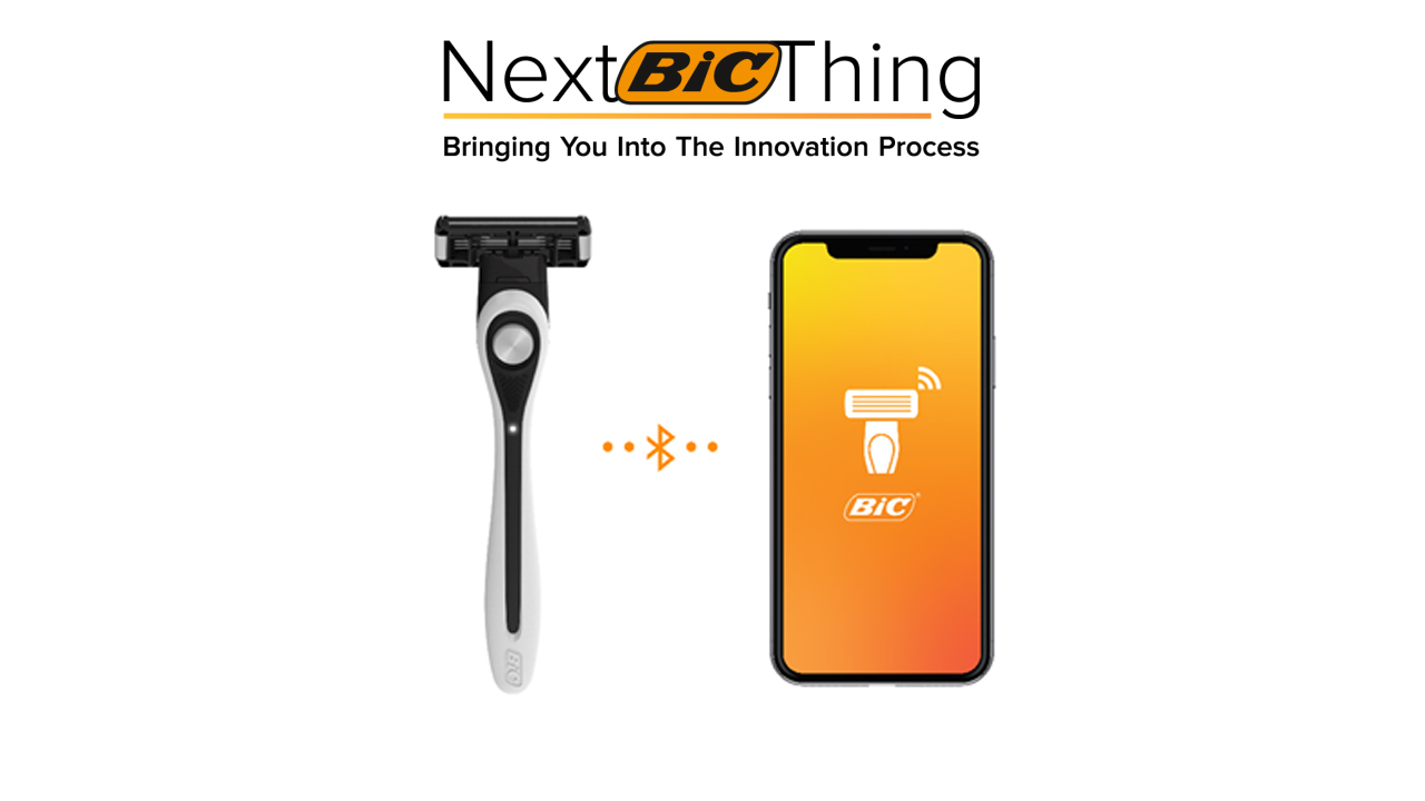 Next BIC Thing logo with razor