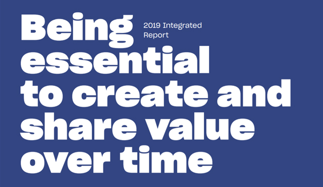 Being essential to create and share value over time