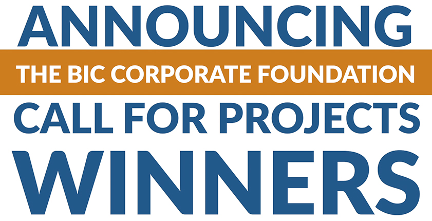Announcing the BIC Corporate Foundation Call for Projects Winners