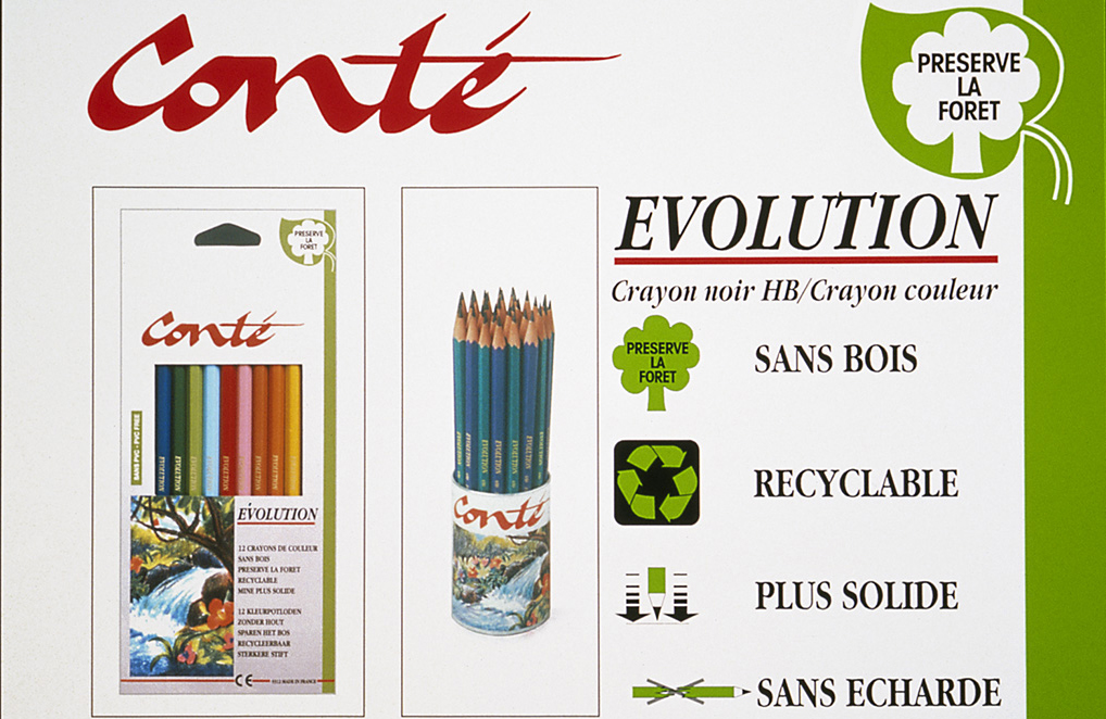 Original BIC Evolution advertisement