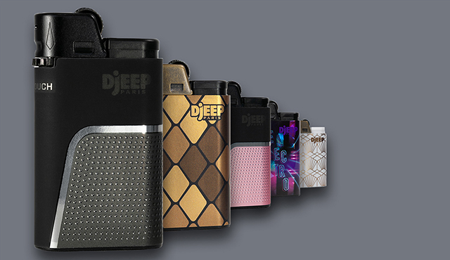 Assorted Djeep lighters